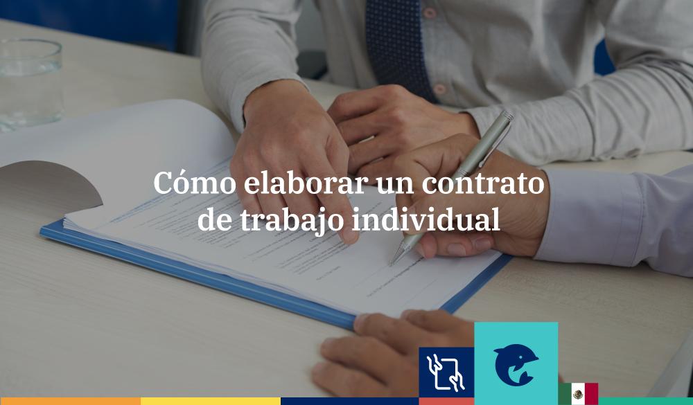 Cómo hacer un contrato de trabajo individual