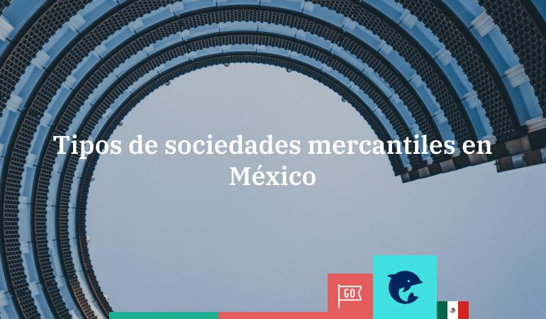 ¿Qué tipos de sociedades mercantiles existen en México?
